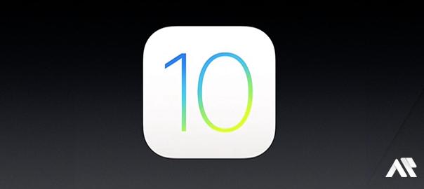 Sortie d'iOS10
