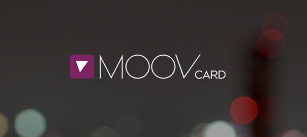 Moovcard application mobile
