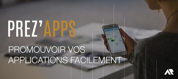 Prez'Apps - votre landing page mobile