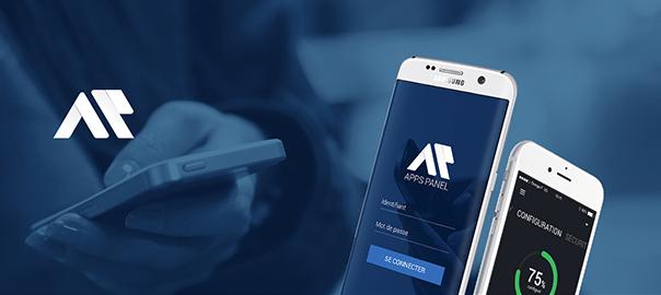 L'application mobile du backoffice Apps Panel