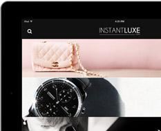 Application InstantLuxe