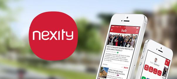 Nexity application mobile