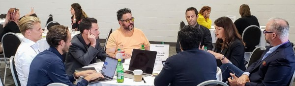 Collaboration Zone - Influencers Roundtable in Toronto at HR Tech Summit 2018