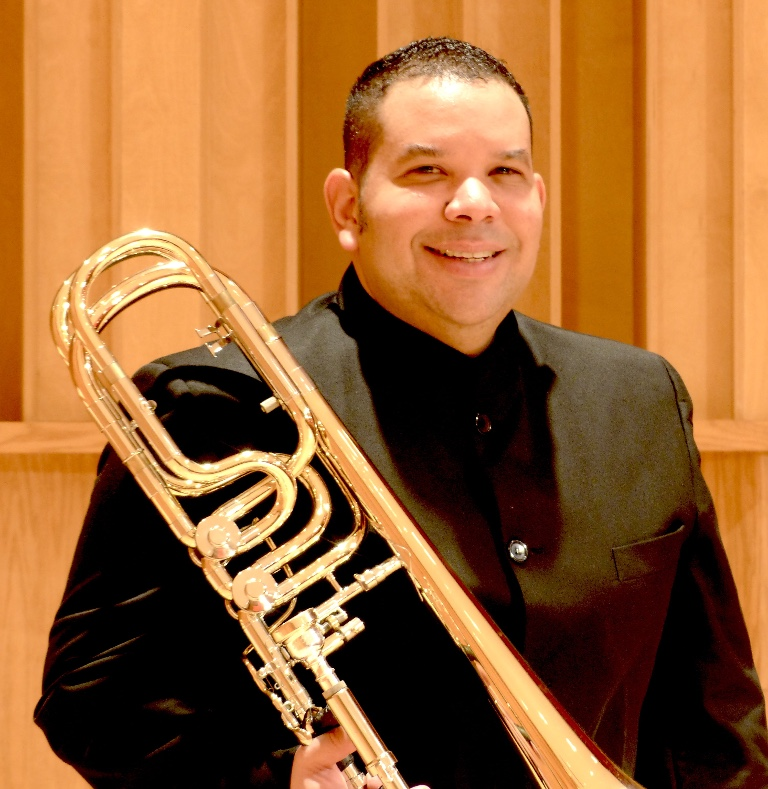 Jose Leon with Trombone