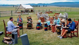 Drum Circle Madness with Scott Besaw