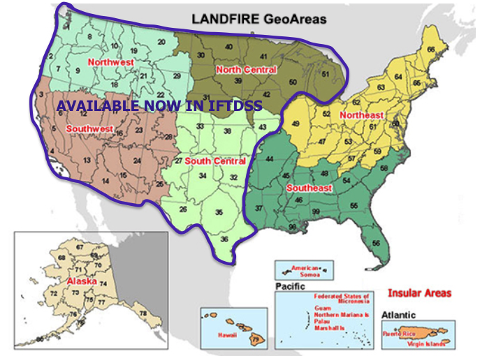 LANDFIRE GeoAreas