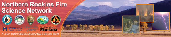 Northern Rockies Fire Science Network banner