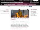 UI Fire webpage