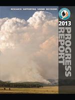 cover of JFSP 2013 report