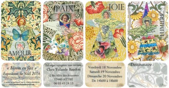 Exhibition at Yolande Baudon in Aytré