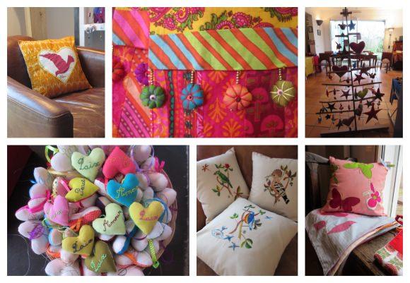 Bloom exhibition in Yolande's home
