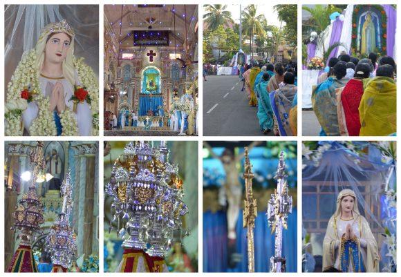 The festival of the Virgin Fatima