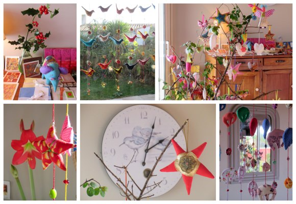 Bloom exhibition in Annie's home