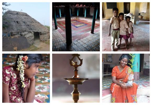 Meditation center in Tranquebar