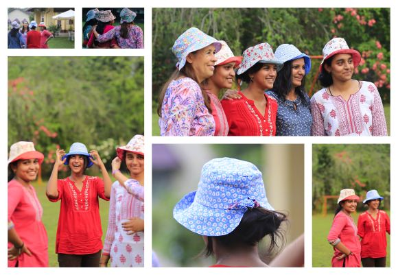 Hats: shooting French & Indian photos, with great Joy