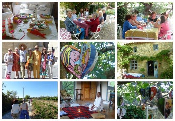 Meditations time and workshops in Uzès, France