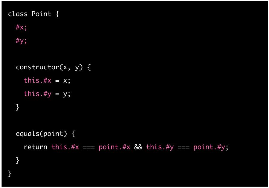 JavaScript's new #private class fields