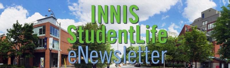 innis student life newsletter header