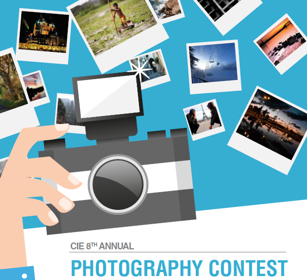 CIE Photo Contest Poster