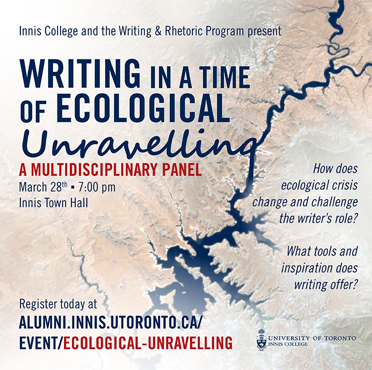 Ecological Writing Panel Poster