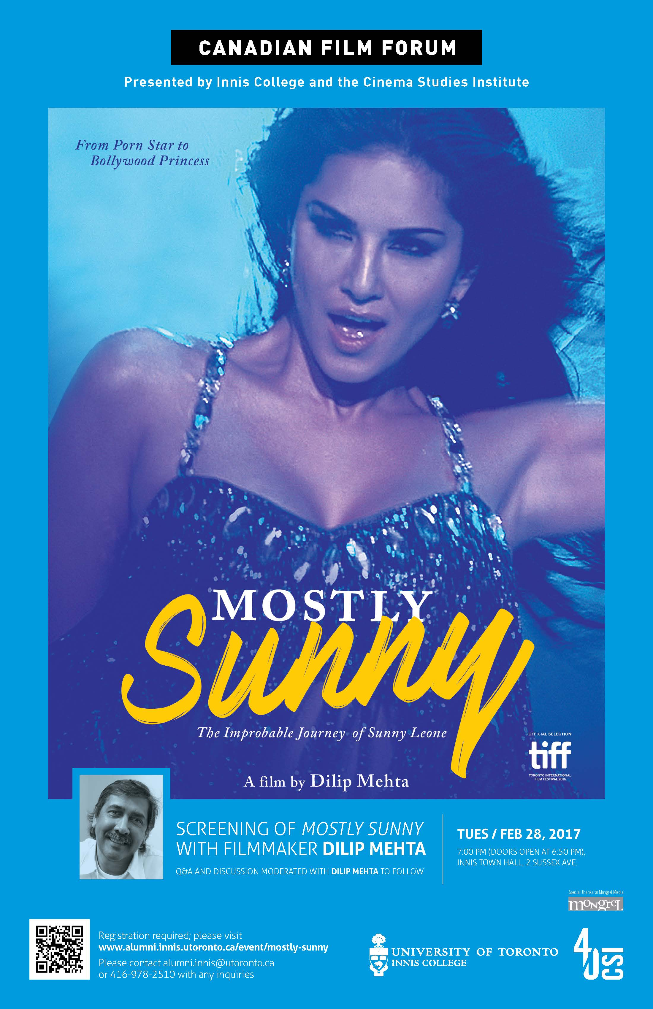 Mostly Sunny Screening Event