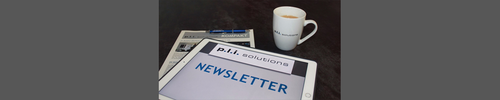 Newsletter p.l.i. solutions GmbH