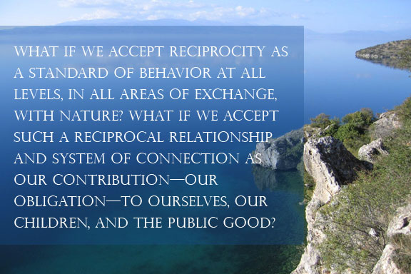 Peter Neill, Reciprocity | World Ocean Journal