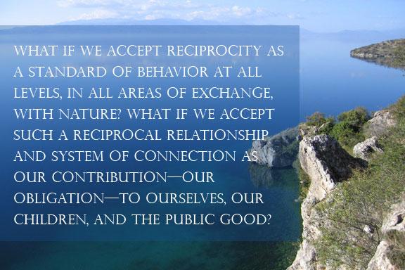 Peter Neill, Reciprocity | World Ocean Journal