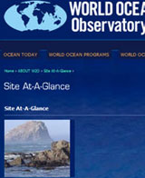 World Ocean Observatory | Site-at-a-Glance