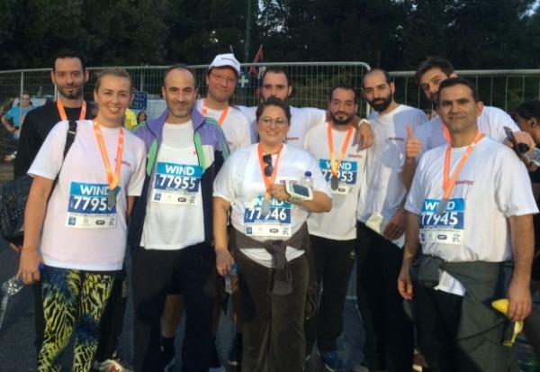 Grantex in the 35th Authentic Marathon of Athens