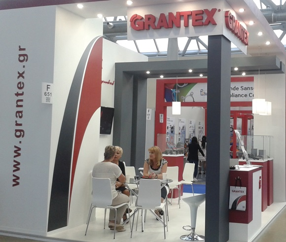 Photo of Grantex stand in Automechanika Moscow