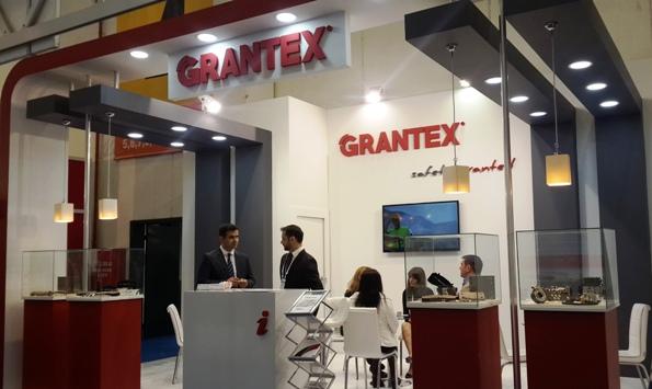 Grantex stand in Automechanika Istanbul