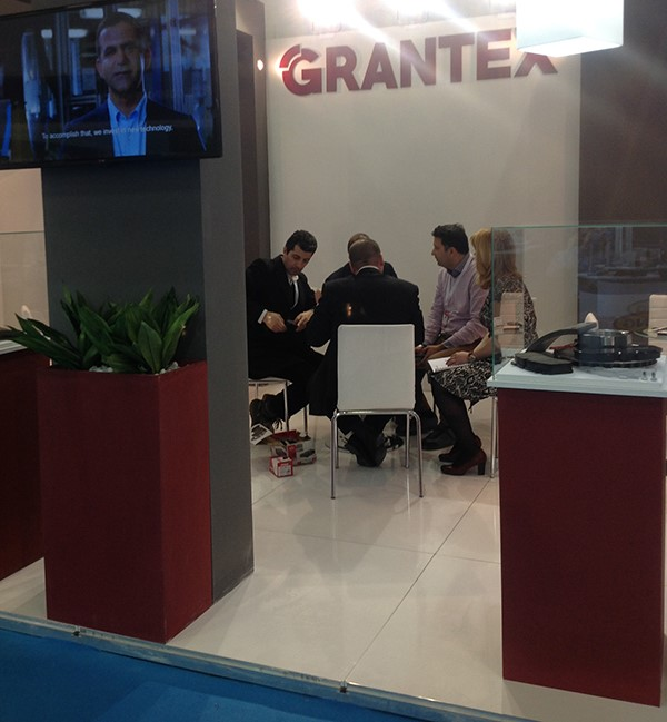 Grantex participated with a brand new stand