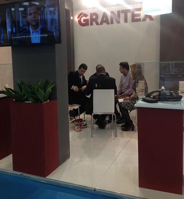 Η Grantex έλαβε μέρος στην έκθεση με ανανεωμένο stand