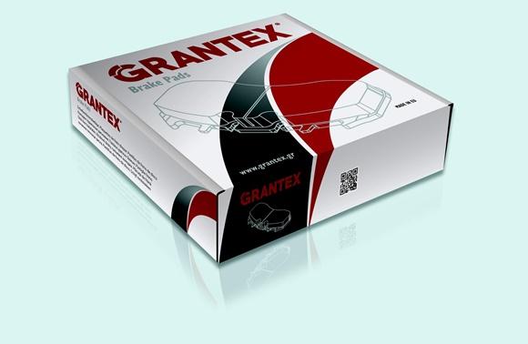 New packaging for Grantex disc brake pads and brake linings !