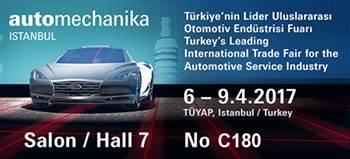 Grantex will participate in Automechanika Istanbul 2017