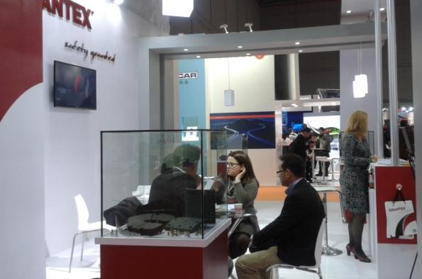 Photo of Grantex stand in Automechanika Shangai