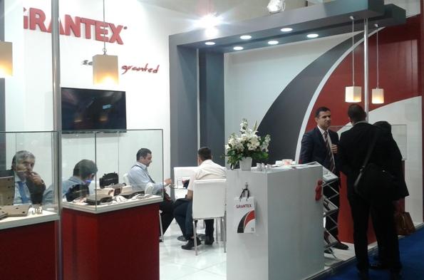 Grantex stand in Automechanika Istanbul 2016