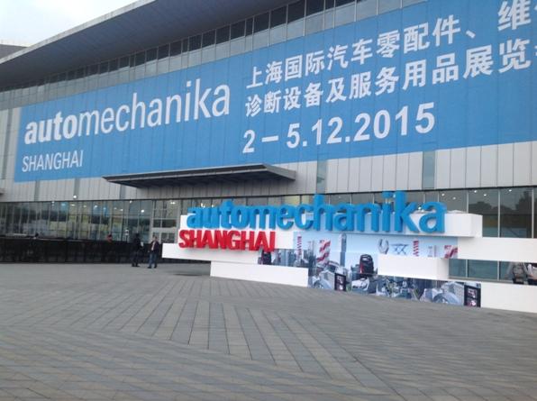 Outside of Automechanika Shanghai 2015