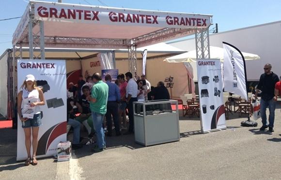 Το περίπτερο της Grantex στο You truck festival 2015