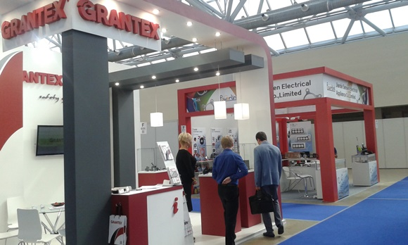 Grantex stand in Automechanika Moscow