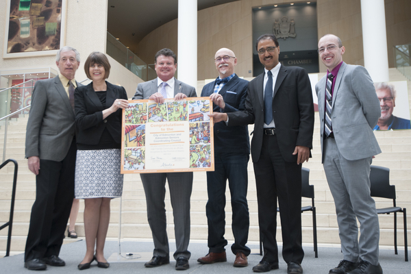 ESCC and City of Edmonton receive Age-Friendly Alberta award