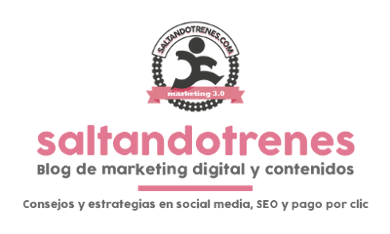 Blog de marketing digital y contenidos web saltandotrenes