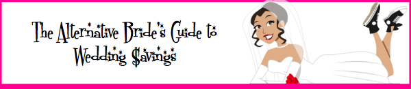The Alternative Bride's Guide to Wedding $avings