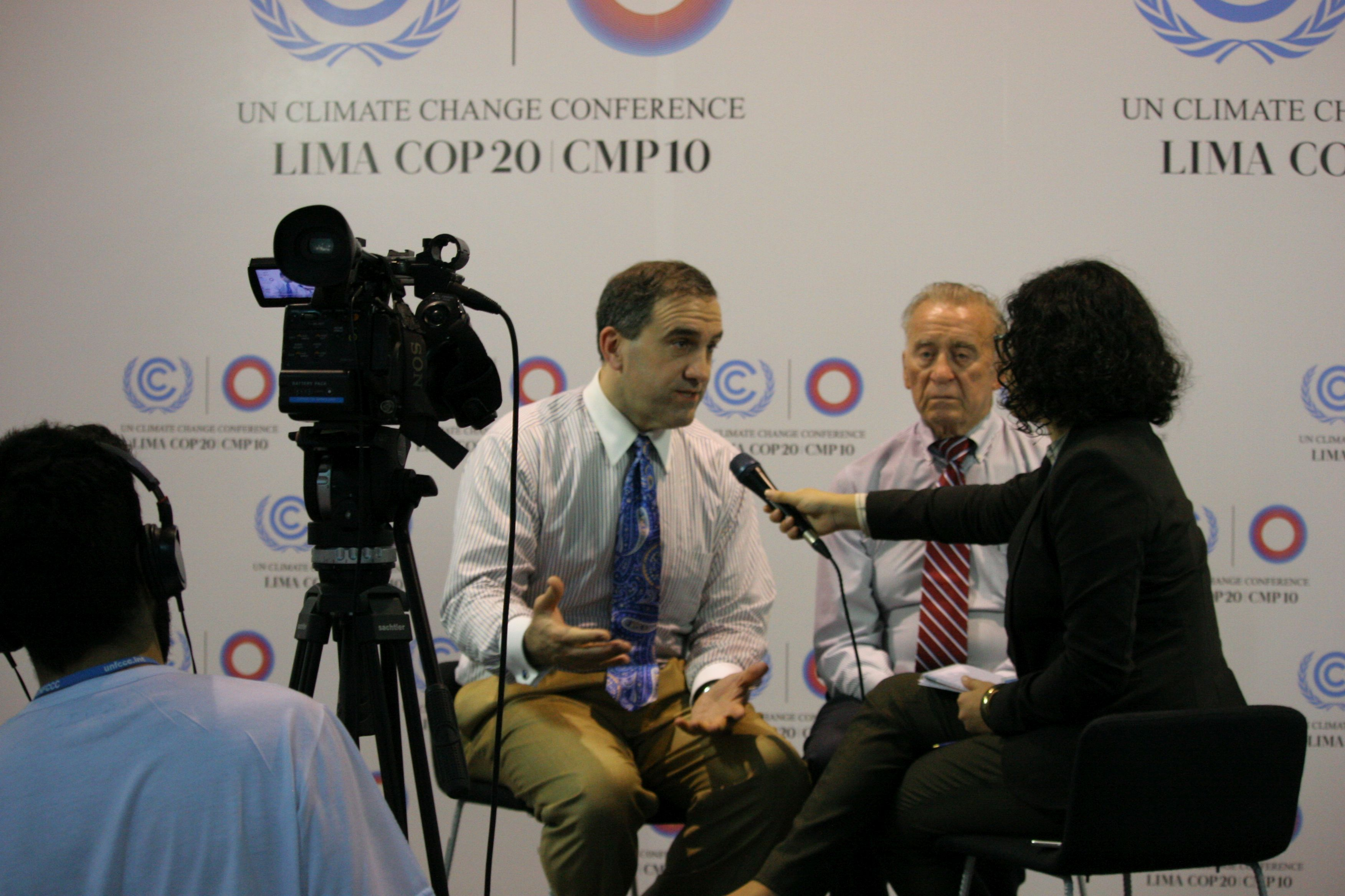Watch: Marc Morano & Walt Cunningham in contentious debate on UN Climate TV at Lima Summit
