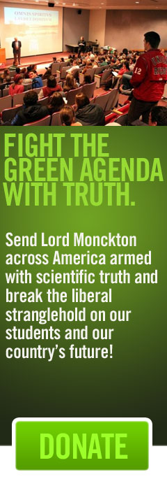 Fight the Green Agenda with Truth. Donate Now!