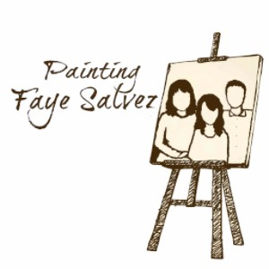 Painting Faye Salvez