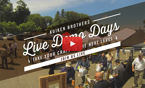 Kuiken Brothers Live Demo Days - Join Us Live
