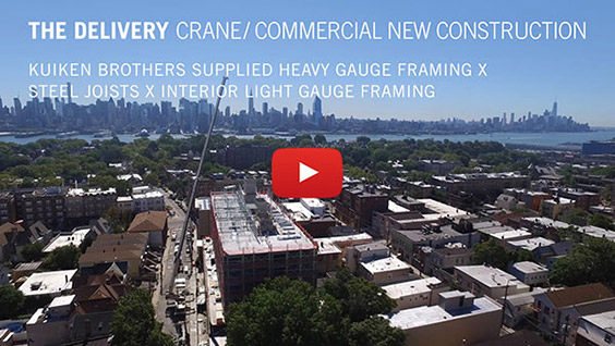 The Delivery - Crane / Commercial New Construction