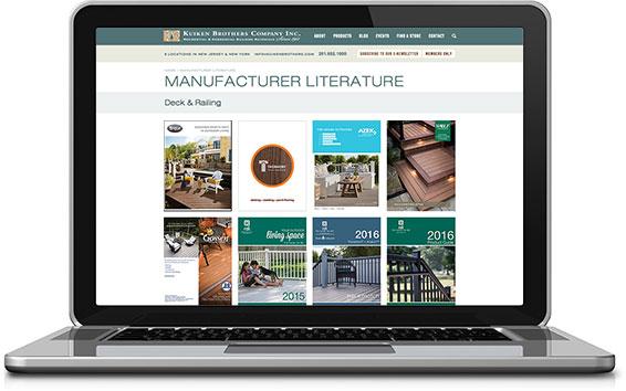 Manufacturer Digital Catalog Library